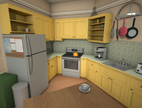 The Big Bang Theory Virtual Apartment Created In Live Home 3d