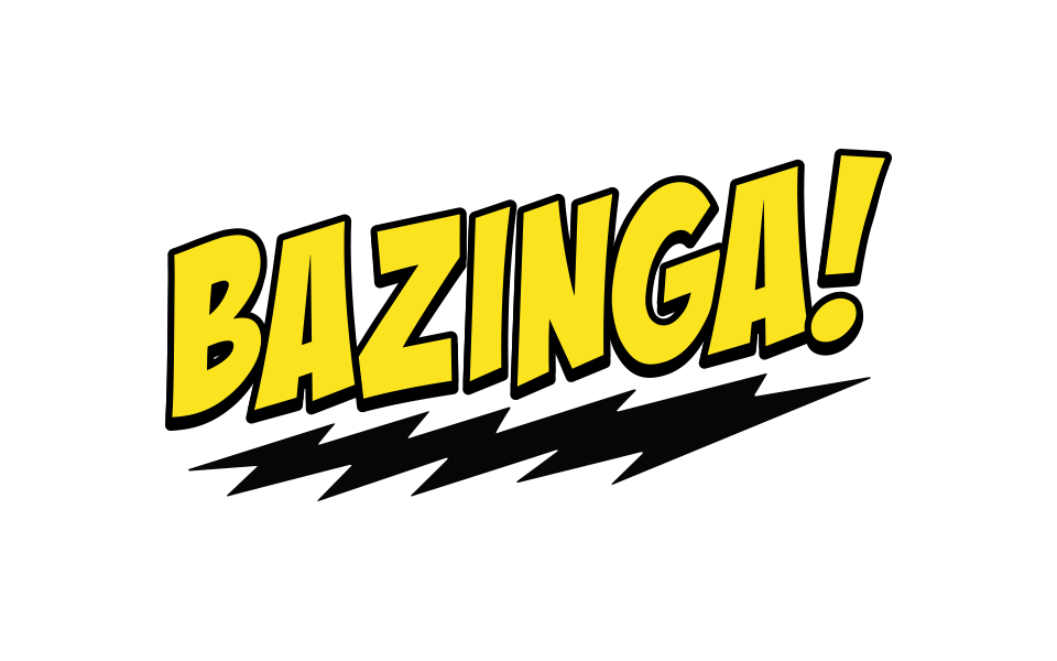 Video Screen Bazinga