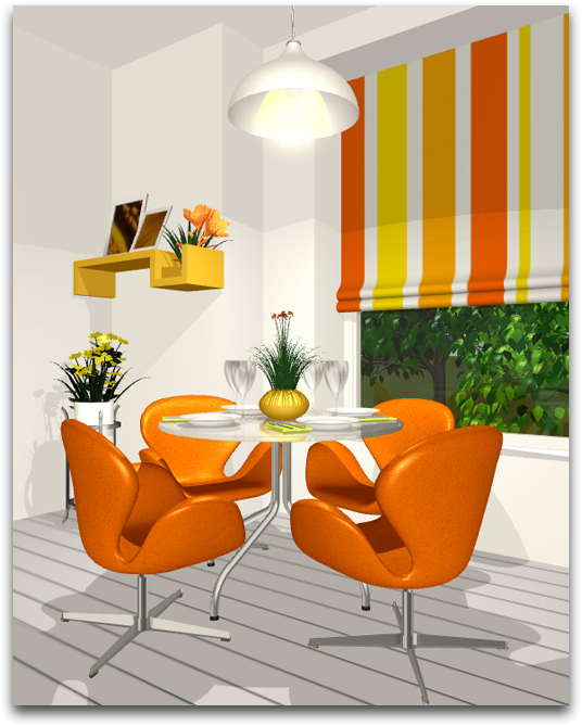 Analogous Color Schemes live home 3d — using the color wheel: finding the right color