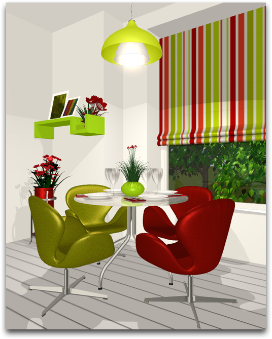 Complementary Color Scheme Room: Using The Color Wheel: Finding The Right