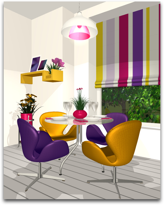 Complementary Colors Interior Design live home 3d — using the color wheel: finding the right color