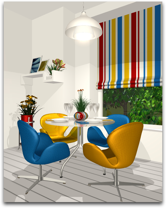Live Home 3D Using The Color Wheel Finding Right