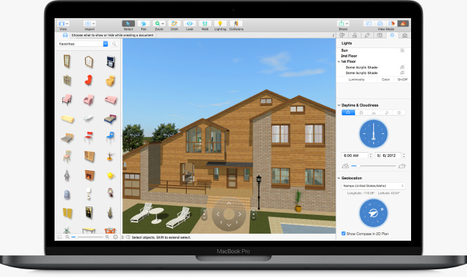 Live Home 3D allows using VR in Home Design