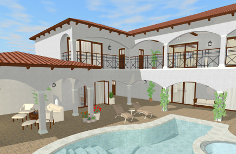 A house design – video preview