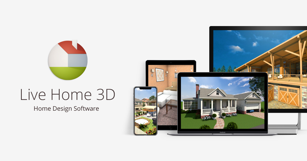 Live home 3d home design software for windows ios and macos Windows home design software