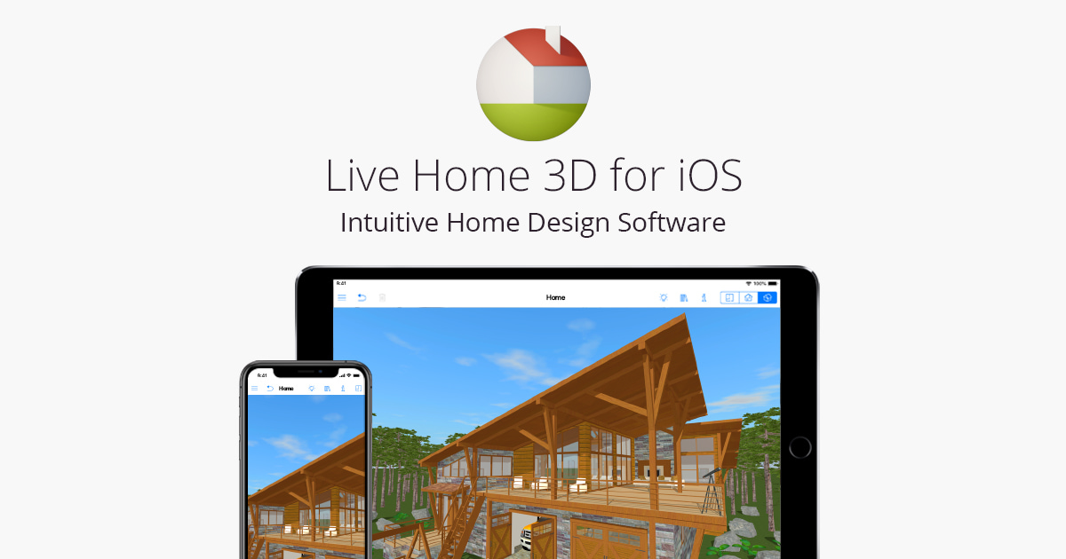 Home & Interior Design App for iPad and iPhone — Live Home 3D