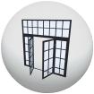 Collection of Doors, Windows and Gates