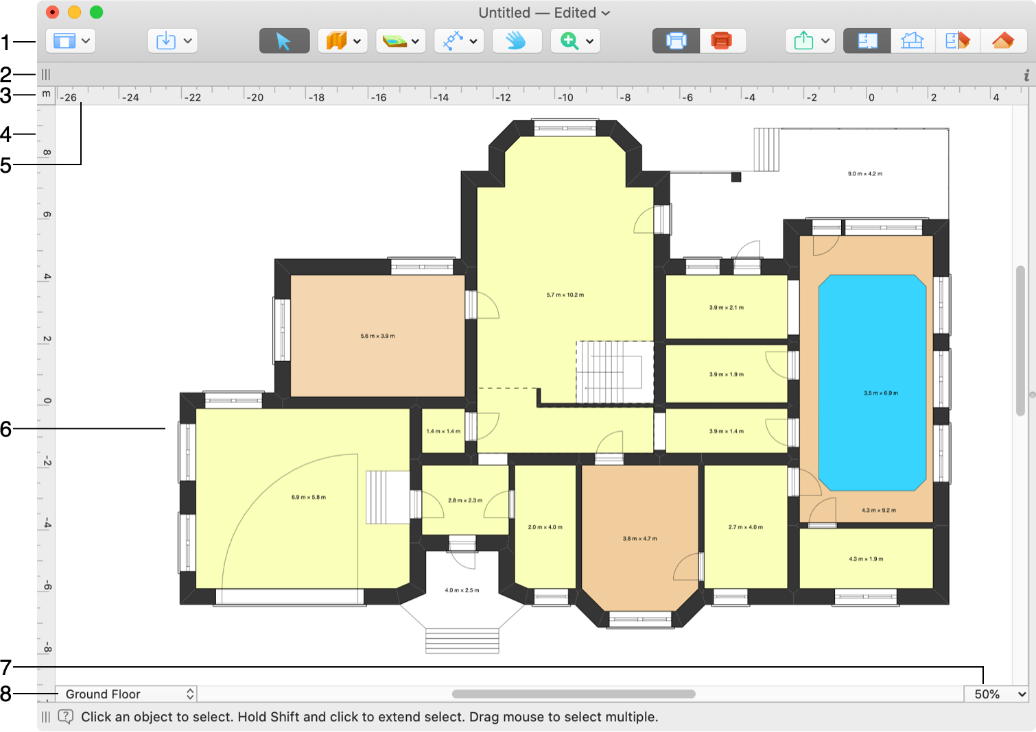 The 2d Plan View Live Home For Mac