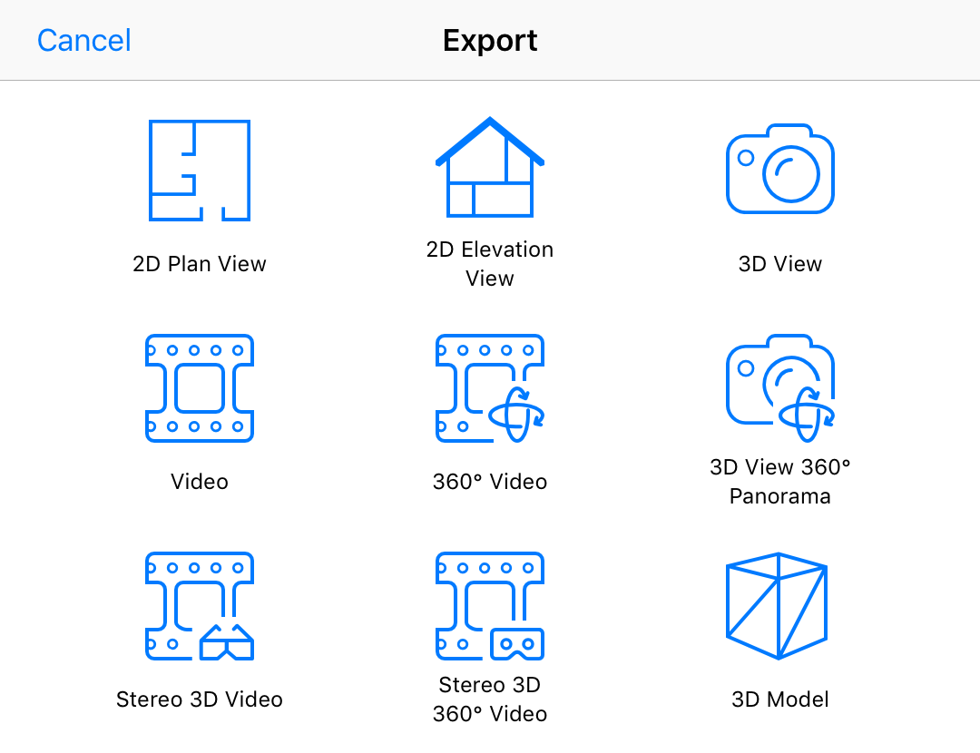Exporting a 3D Model – Live Home 3D for iOS