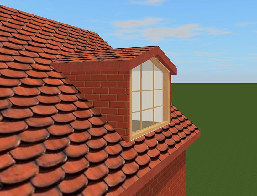 Adding a dormer window - Dormer skylight best choice ...