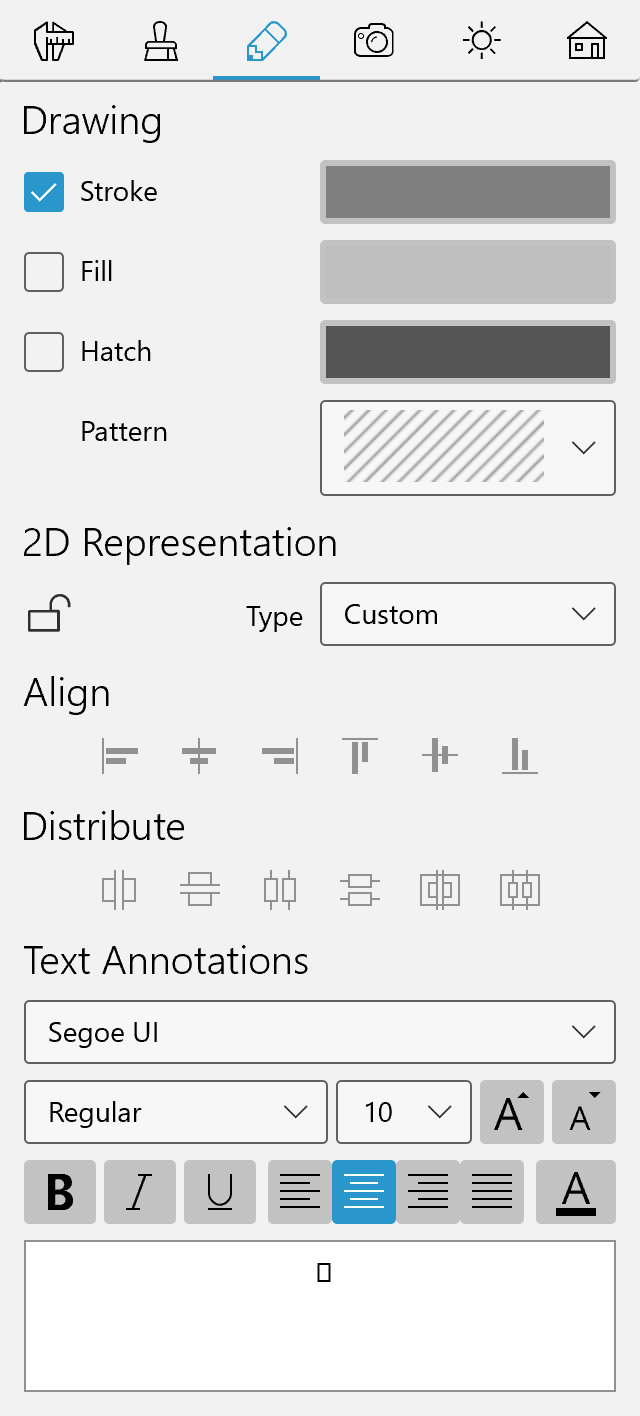 Text Annotation – Live Home 3D for Windows